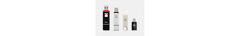 CLÉS USB & CARTES MÉMOIRE